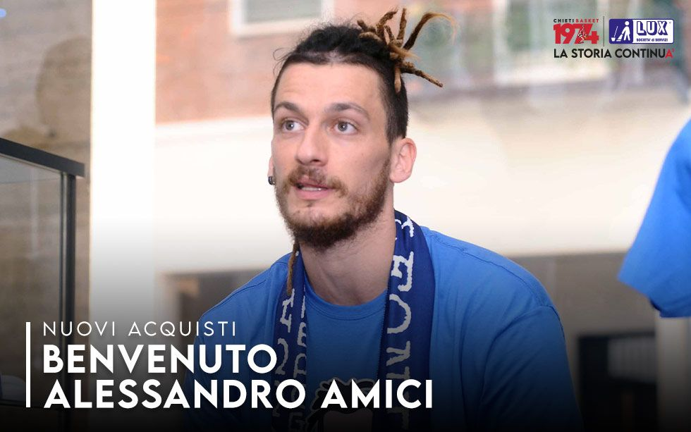 Welcome Alessandro