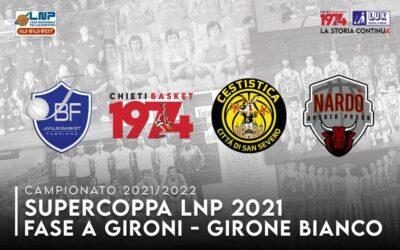 Comunicato ufficiale LNP Supercoppa Italiana