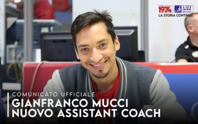 Gianfranco Mucci nuovo assistant coach