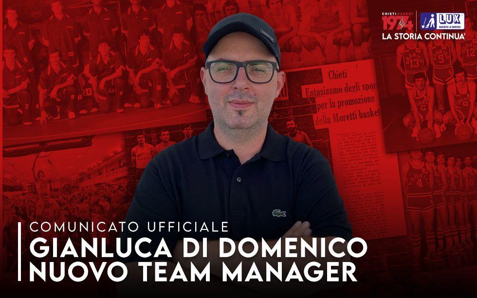 Gianluca Di Domenico nuovo team manager