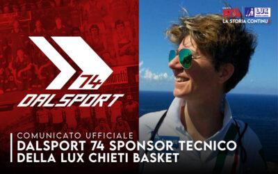 Dalsport sponsor tecnico della Lux Chieti Basket 1974