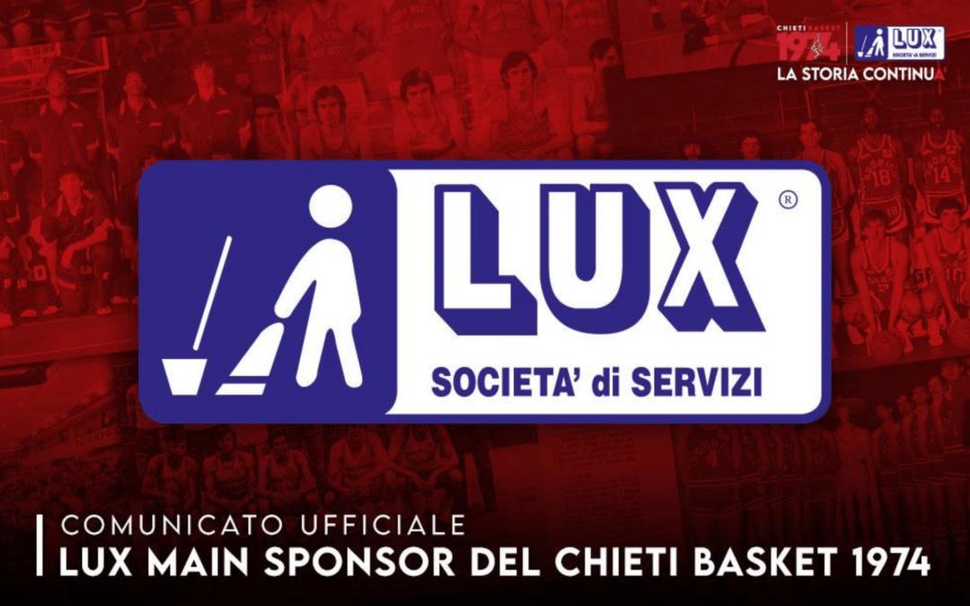 Lux, Main sponsor del Chieti Basket 1974